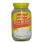 !!!!Nata De Coco!!!! (Coconut Gel in Syrup) - White - BUENAS