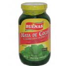 !!!!Nata De Coco!!!! (Coconut Gel in Syrup) - Green - BUENAS