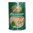 Straw Mushrooms (half-cut) in Brine 24x425g - GOLDEN SWAN