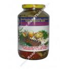 Sour Bamboo Slice with Bai Yanang, Cha Om, Chilli & Oyster Mushroom - PANTAI