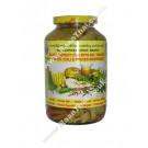 Bamboo Shoot (tip) with Bai Yanang, Cha Om, Chilli & Oyster Mushroom - PANTAI