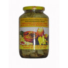 Bamboo Tip with Bai Yanang, Cha-Om, Chilli, Oyster Mushroom & Tomato - PANTAI