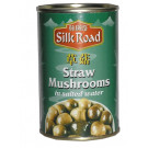 Straw Mushrooms in Salted Water 24x425g - SILK ROAD