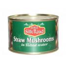 Straw Mushrooms in Salted Water 227g - SILK ROAD