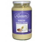 Minced Garlic Paste 1kg - KHANUM