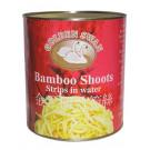 Bamboo Shoot Strips in Water 2.95kg - GOLDEN SWAN
