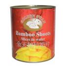 Bamboo Shoot Slices in Water 2.95kg - GOLDEN SWAN