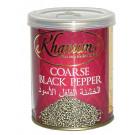 Coarse Black Pepper 100g (tin) - KHANUM