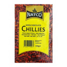 Dried Whole Birdseye Chillies 150g - NATCO