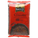 Dried Whole Birdseye Chillies 400g - NATCO