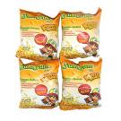 KRISPY SNAX Snack Noodles – Chicken & Garlic Flavour 4x25g – YUM YUM