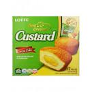Custard Cream Cake (12pcs) - LOTTE ***CLEARANCE (Best Before: 17/10/19)***