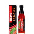 BRAVO Brazilian Chilli Pepper Sauce - Habanero - SAKURA ***CLEARANCE (best before end: 01/21)***