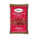 Dried Whole Long Chilli 50g - KHANUM