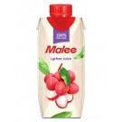 100% Lychee Juice 330ml - MALEE