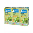 GOLD SERIES Sweetened Soy Milk – MATCHA 3x180ml – LACTASOY