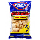 Chicharon (Fried Pork Rind) - Salt & Vinegar Flavour - PINOY'S CHOICE