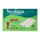 Menthol Plasters - NEOBUN