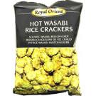 Hot Wasabi Rice Crackers - ROYAL ORIENT