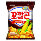KOKAL Corn Snack - Grilled Corn Flavour 72g - LOTTE