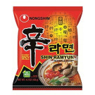 Instant Noodle Soup Shin Ramyun - Hot & Spicy - NONG SHIM