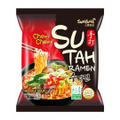 SUTAH (Hot & Spicy) Beef Flavour CHEWY Ramen Noodle Soup - SAMYANG