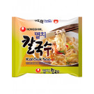 ANCHOVY KAL GUK SOO Non-Fried Noodle Soup with Dried Anchovy Broth - NONG SHIM