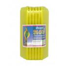 Yellow Candles (12.5cm) 51pcs – HONG
