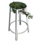 Gas Burner STAND (burner not included) - 68cm (h) x 25cm ([top]d)
