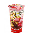 YAN YAN Chocolate & Strawberry Double Cream Dip Biscuit Snack - MEIJI
