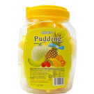 Assorted (Melon, Pineapple, Lychee, Orange, Mango) Puddings with Coconut Gel (Large Jar) - COCON