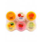 Assorted (Mango, Strawberry, Melon, Lychee, Pineapple) Puddings with Coconut Gel (6x80g) - COCON