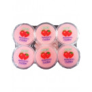 Strawberry Puddings with Coconut Gel 6x80g - COCON