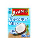 Coconut Milk 200ml (carton) - AYAM