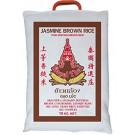 Thai Brown Jasmine Rice 10kg - DOUBLE SWALLOW/ROYAL THAI