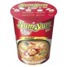 Cup Instant Noodles - Shrimp Flavour - YUM YUM