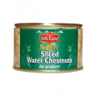 Sliced Water Chestnuts in Water 12x227g - SILK ROAD