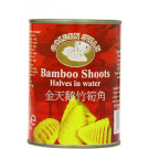 Bamboo Shoot Halves in Water 567g - GOLDEN SWAN