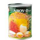 Rambutan & Pineapple in Syrup 24x565g - AROY-D
