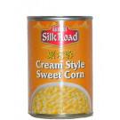 Cream Style Sweetcorn 24x425g - SILK ROAD