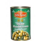 Straw Mushrooms in Salted Water 24x425g - SILK ROAD