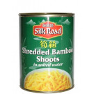 Shredded Bamboo Shoots in Brine 12x560g - SILK ROAD