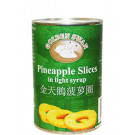 Pineapple Rings in Syrup 24x425g - TIGER TIGER/GOLDEN SWAN