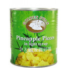 Pineapple Pieces in Light Syrup 24x850g - SILK ROAD/GOLDEN SWAN