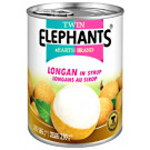 Longan in Syrup - TWIN ELEPHANTS