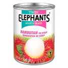 Rambutan in Syrup - TWIN ELEPHANTS