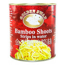 Bamboo Shoot Strips in Water 2.95kg - GOLDEN SWAN