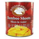 Bamboo Shoot Slices in Water 6x2.95kg - GOLDEN SWAN