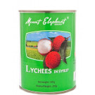 Lychees in Syrup 24x567g - MOUNT ELEPHANT