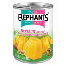 Jackfruit in Syrup - TWIN ELEPHANTS